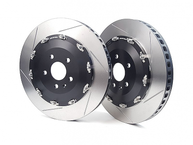 Neuspeed 2pc Front Floating Rotors for Audi RS3 (8V)