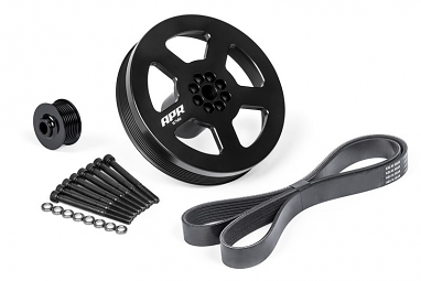APR Supercharger Pulley and Belt Kit - Press On