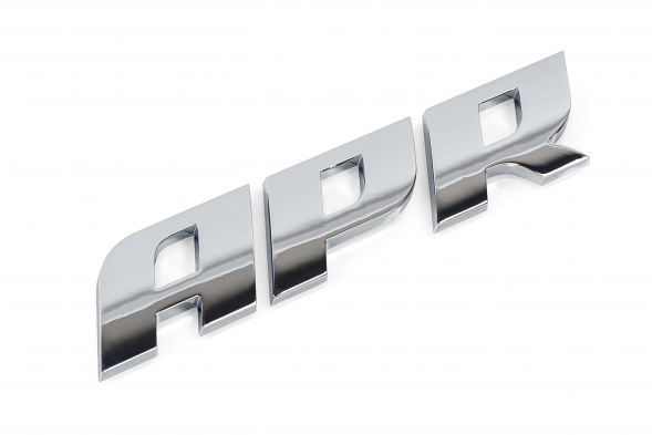 APR Dome Badge - Polished Silver