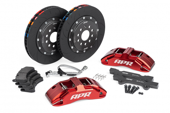 APR Big Brake Kit (350x34mm) For VW MK6 Golf R & Audi TTS - Red