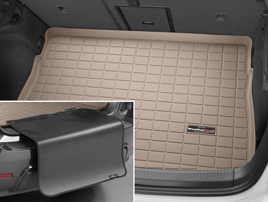 WeatherTech Cargo/Trunk Liner - Highest Position BP (Tan) - For MK7 GTI/Golf/R