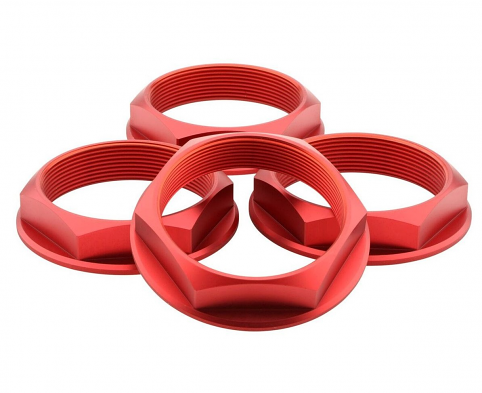 Fifteen52 Super Touring Hex Nut Set - (Anodized Red)