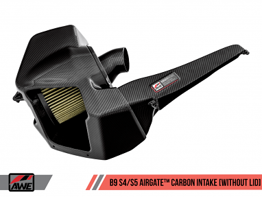 AWE AirGate™ Carbon Fiber Intake for Audi B9 S4 / S5 3.0T - Without Lid