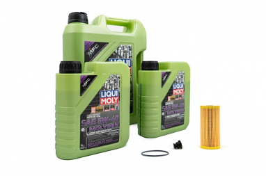 Liqui Moly Molygen 5W/40 Oil Service Kit For Audi B9 S4