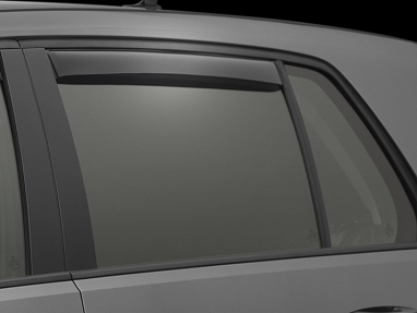 Weathertech Rear Side Window Deflectors (Dark Smoke) - For MK7 GTI/Golf/R
