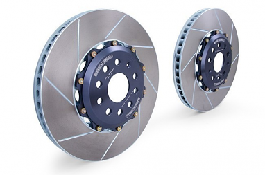 Girodisc Rear 2pc Floating Rotors For 8J Audi TTRS