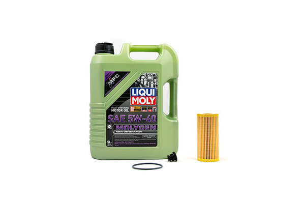 Liqui Moly Molygen 5W/40 Oil Service Kit For Audi B8/B8.5 A4