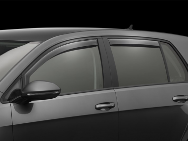 Weathertech Front & Rear Side Window Deflectors Kit (Light Smoke) - For MK7 GTI/Golf/R