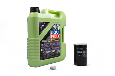 Liqui Moly Molygen 5W/40 Oil Service Kit For MK6 Jetta 1.4TSI