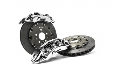 Racingline Big Brake Stage 3 Kit For VW/Audi MQB - 355mm (Chrome)