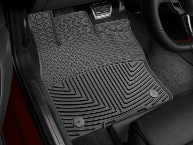 WeatherTech All-Weather Floor Mats for Front Row (Black) - For MK7 GTI/Golf/R