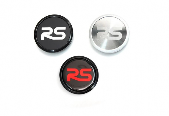 Neuspeed RS Wheel Cap For Audi and VW - Black/Red