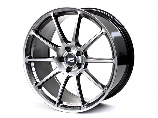 RSe102 Light Weight Wheel - 19x9.0 45ET - Hyper Black - Gloss