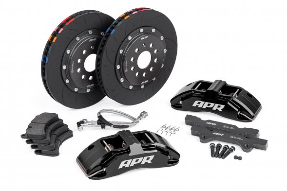 APR Big Brake Kit (350x34mm) For VW MK6 Golf R & Audi TTS - Black